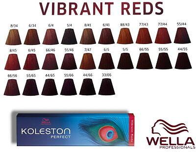 wella koleston perfect coloration cheveux vibrant reds 100ml - Coloration Cheveux Wella Koleston