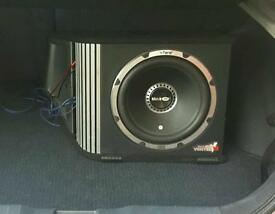 Black air 1600 watts subwoofer