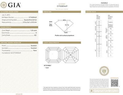 2.40 ct Asscher Cut Diamond 18k Yellow Gold Studs Earring, G VS1 GIA certificate 1