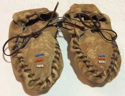 Native American Indian baby moccasins