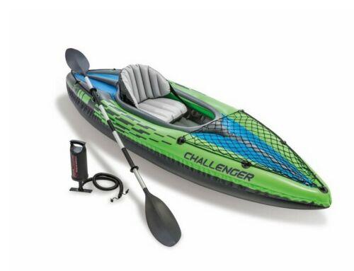Intex 68305EP Challenger K1 Kayak 1 Person Inflatable Kayak Set