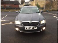 Skoda superb 2.0 tdi auto Dsg 2010 limousine model low mileage warranty px full leather alloys