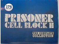 Complete set of Prisoner Cell Block H (White label)