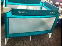 Grace Green travel cot