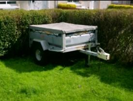 WANTED metal car trailer erde or daxara type