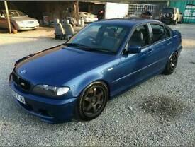 BMW E46 330D MSPORT modified