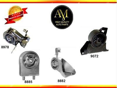 Engine & Trans. Mount 4PCS Set for Mazda Protege 00-03 / Protege5 2003 L4 (Mazda Protege Engine Mount)