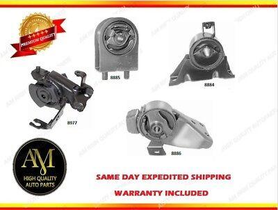 Engine & Trans. Mount Set 4PCS for Mazda Protege 99-01 L4 1.6L w/ Manual (Mazda Protege Engine Mount)