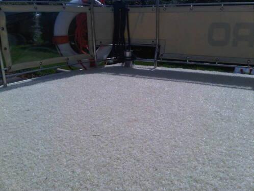 Defined buiten tapijt werpsterhoeke