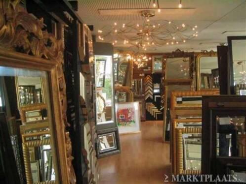 Kuifspiegels ornamentspiegels design spiegels modern for Marktplaats spiegel