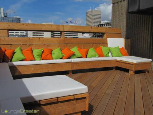 Kussens op maat loungekussens tuinkussens bootkussens for Lounge kussens