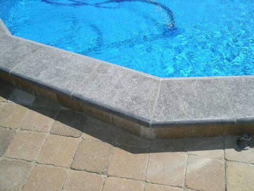 Zwembad zwembadranden van natuursteen goedkoop de beste zwembaden toebehoren - Strand zwembad natuursteen ...