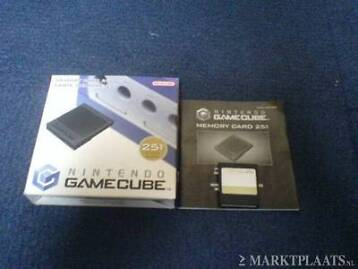 Memory Card voor de Gamecube (en wii) (59,251,1019 blocks)
