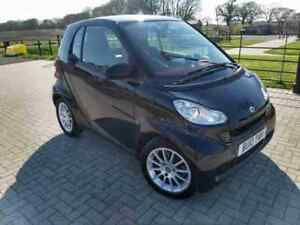 Convertible Smart ForTwo Black Passion 2 Door Cabriolet