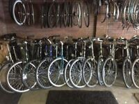 MEN'S AND LADIES GENUINE DUTCH BIKES PLENTY CHOICE DOZENS AVAILABLE STUDENT SPECIALS FROM £60