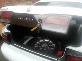 Genuine 1997 Lexus GS300 rear tailgate + centre light (white)