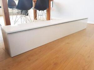 IKEA - Module de rangement blanc laqué - Comme neuf!