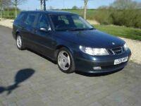 Saab 9-5 95 2.2 diesel 05 reg mint car good diesel runner family car estate hatchback bargain