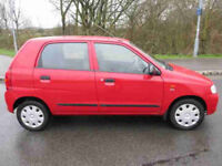 SUZUKI ALTO 1.1 2006 06 REG 44,400 MILES FROM NEW - ONE ELDERLY OWNER FROM NEW - IMMACULATE COND