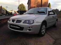 Rover 25 for sale mot till next year