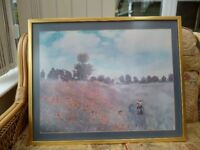 Poppies by Monet.