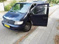 CLEAN LEFT HAND DRIVE MERCEDES BENZ VITO, DRIVES EXCELLENTLY, GOOD LOAD SPACE,PAPERS SORTED. CALL ME