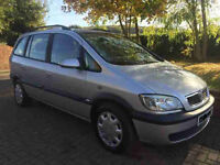 A 2003 Vauxhall Zafira Automatic 7 Seater in Great Condition with a Full Service History