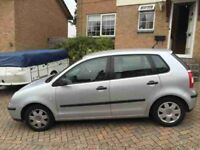 spares or repair vw polo excellent bodywork mot alloys timing chain jumped 54 reg lots of service