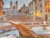 1000 PIECE THE SPANISH STEPS - WHSMITH'S PUZZLE - EXCELLENT CONDITION
