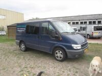 VERY NEAT LEFT HAND DRIVE FORD TRANSIT VAN, DRIVES SMOOTHLY, ENGINE AND MECHANICS IN GOOD FORM. CALL