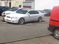 Lexus GS300 Sport breaking sunroof engine box grey leather stereo door boot tinted glass spoiler