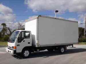 GMC W3500 18ft Box Truck