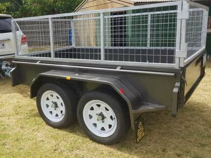 For Hire - 8/5 Tandem Cage Trailer