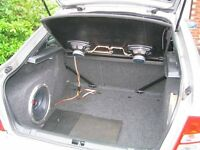 Skoda Octavia Mk 1 VRS Acoustic Parcel Shelf with Kenwood 7x10 speakers