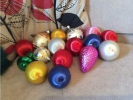 Vaintage Christmas Baubles