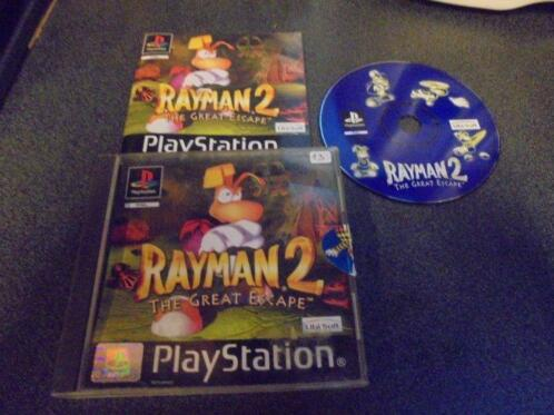 Playstation Rayman 2 The great escape (orig-compleet)