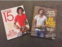 Joe Wicks recipe books - Lean in 15 + cooking for family and friends