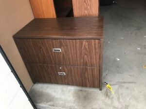 Furniture Trading Program>>Wooden Lateral Filing Cabinet!
