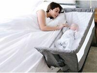 Babylo Cozi Sleeper co-sleeping crib - anti-reflux + 4 FREE sheets