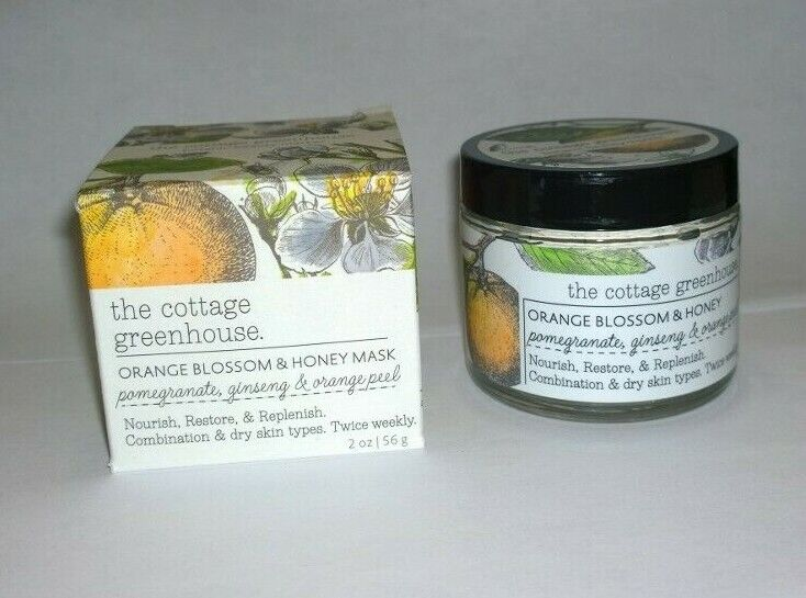 The Cottage Greenhouse Orange Blossom Honey Mask - New In Box - $9.99