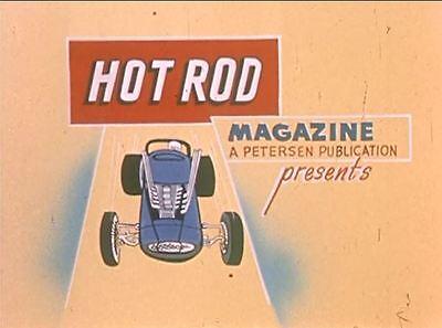 Hot Rods Race Cars Drag Strip Races Vintage 1950s Hot Rod Films DVD