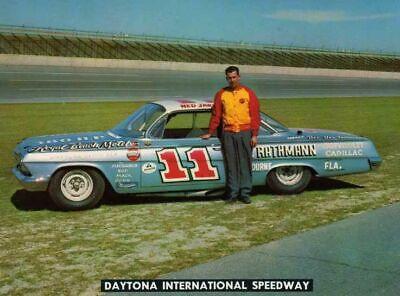 1962 Chevrolet NASCAR Stocker of Ned Jarret 1/25th model decal