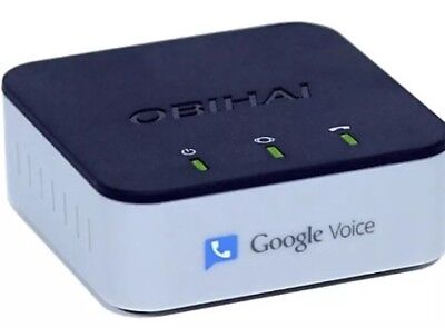 Obihai Obi200 Voip Telephone Adapter With Google Voice   Sip New