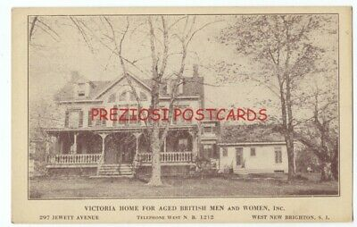WEST NEW BRIGHTON, STATEN ISLAND, NY - Victoria Home for Aged British (Staten Island Ca)