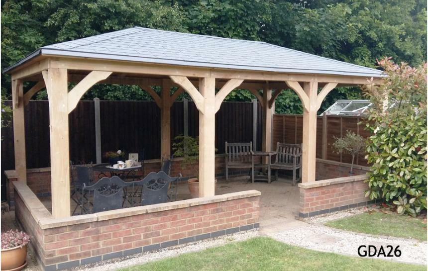 WOODEN GAZEBO/SMOKING SHELTER | in Great Yarmouth, Norfolk | Gumtree