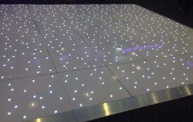 Beautiful White LED Dancefloor for HIRE