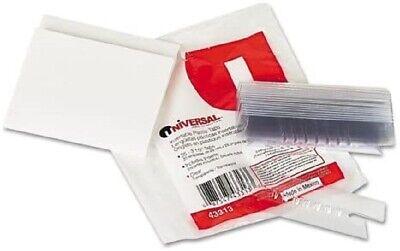 Plastic Tabs Winsert 13 Cut 3 25pk Office Hanging File Folder Filing Unv43313