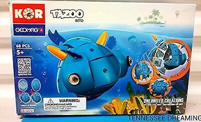 KOR GEOMAG TAZOO BETA NEW IN BOX UNLIMITED CREATIONS 68 PIECES