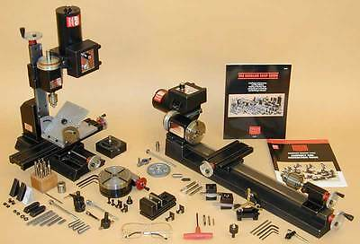 Sherline METRIC CNC ready Ultimate Lathe and Mill Package Save $166.00 Tools and Accessories