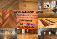 Hardwood & Laminate Floor Installations by Experienced Installer